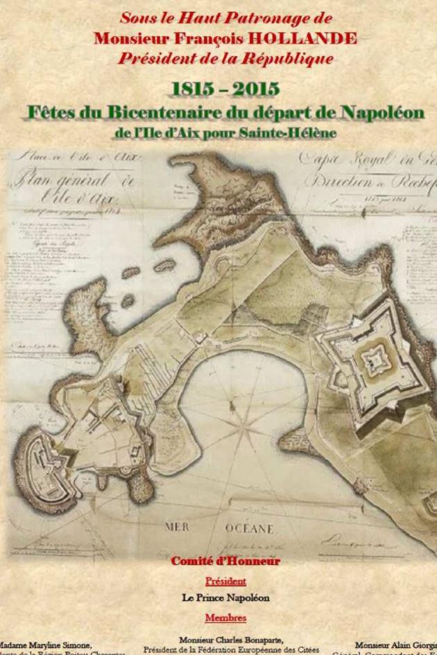 L'Ile d'Aix célèbre le bicentenaire des adieux de Napoléon…