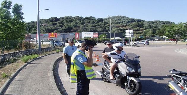 """Corse-du-Sud : 300 motards contrôlés et sensibilisés aux """"écarts de comportements"""""""