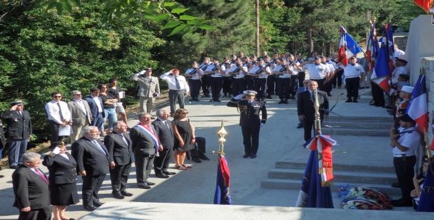 Zonza a reçu Jean-Marc Todeschini pour un hommage aux Harkis de Corse