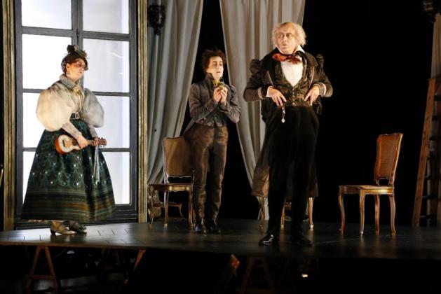"""""""Le Faiseur"""" d'Honoré de Balzac mis en scène par Robin Renucci à Pioggiola"""