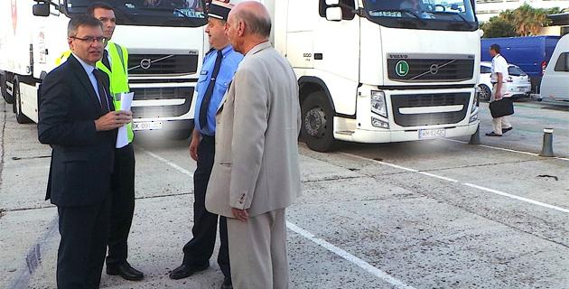 Opération Interministérielle Vacances : Contrôles sur le port de Bastia