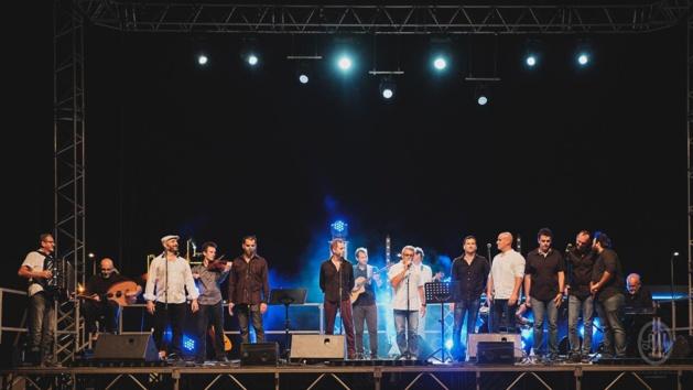 L'Abbrivu chante au festival B.O.C'son avec basques et occitans
