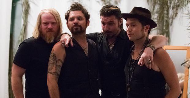 Les quatres Californiens de Rival Sons aux Nuits de la Guitare de Patrimoniu. Photo Jean-Baptiste Andreani.