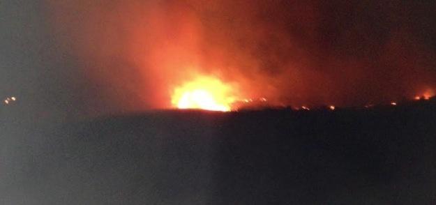 Haute-Corse : Incendies nocturnes à Corscia et Suare !