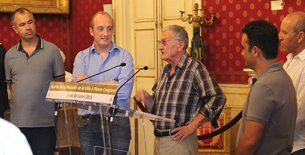Il a reçu la médaille de la ville d'Ajaccio des mains de Laurent Marcangeli : Pierre Cangioni enfin honoré