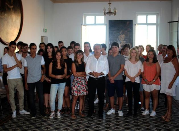 42 bacheliers honorés par la Ville de Calvi