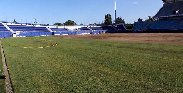 Nouvelle pelouse du stade Armand-Cesari : Elle sera fin prête pour Sporting-Rennes