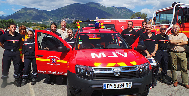 Haute Corse Un vehicule leger infirmier pour la Casinca Costa Verde et l Oriente a