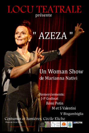 One Woman Show de Marianna Nativi à Porto-Vecchio