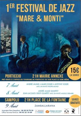 Premier festival de Jazz Mare & Monti Porticcio, Sampolo-Giovicacce