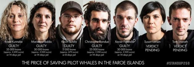 Xavier Figarella aux Iles Féroé : 30 000 kroner (4 020 euros) d'amende ou 14 jours de prison