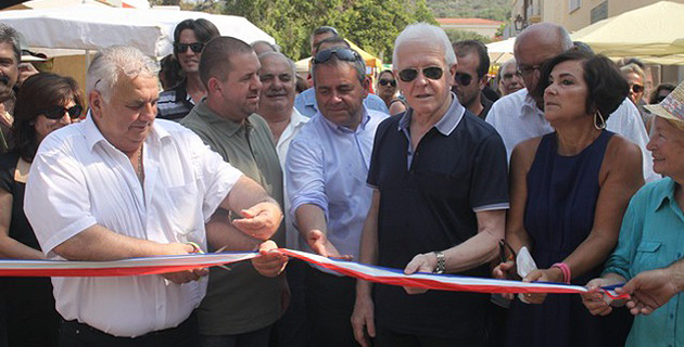 La XIX èmes  Fiera di l'Amandulu in Aregnu inaugurée samedi matin