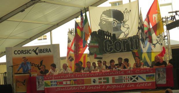 Discours de clôture des Indépendantistes de Corsica Libera.