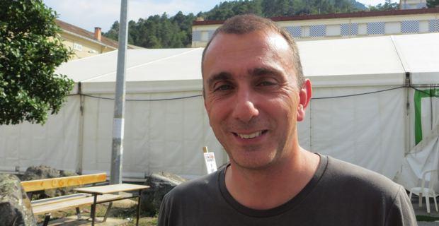 Jean Christophe Angelini, leader du PNC et président du groupe Femu a Corsica à l'Assemblée de Corse.