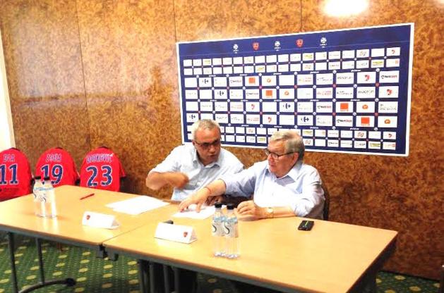 Olivier Miniconi et Fanfan Tagliaglioli