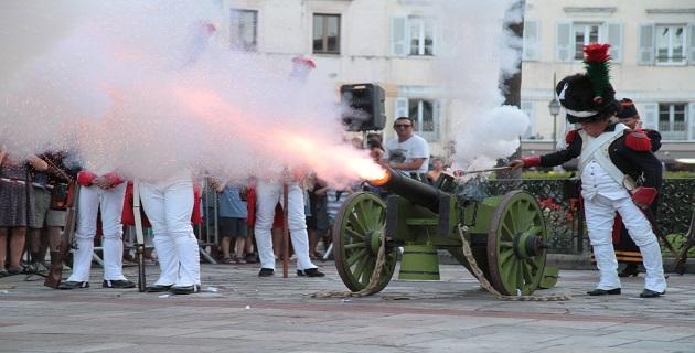 Ouverture des journées Napoléoniennes : Des festivités jusqu'au 15 août