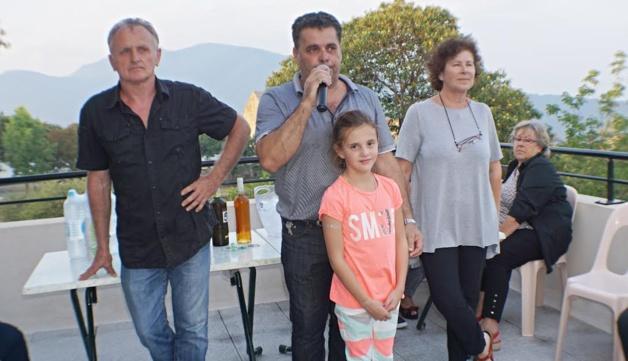-    Le maire Christian Orsucci a remercié le public venu nombreux ainsi bien évidemment que les artistes
