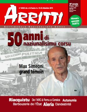 """""""Arriti"""": 50 anni di naziunalismu corsu"""
