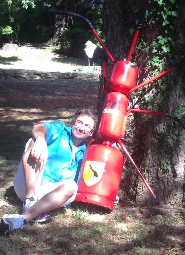 """Les """"Gas"""" mettent le cap... avec Joseph Zanni, artiste plasticien """"recycleur"""" de... bouteilles gaz !"""