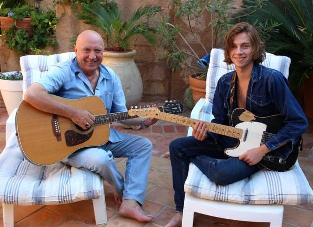 Michel Mallory et son fils JeanThomas