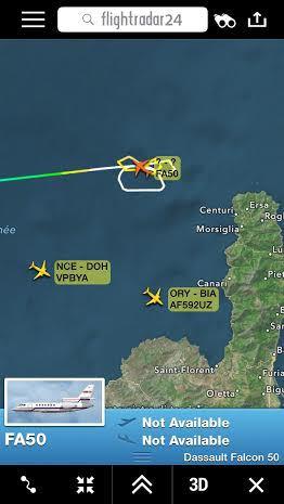 Centuri : Les 2 passagers de l'avion de tourisme qui s'est abimé en mer sains et saufs !
