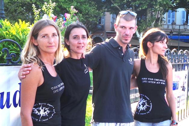 Laurence Constantin, Isabelle Piteaud avec Xavier Figarella : Halte au Grind
