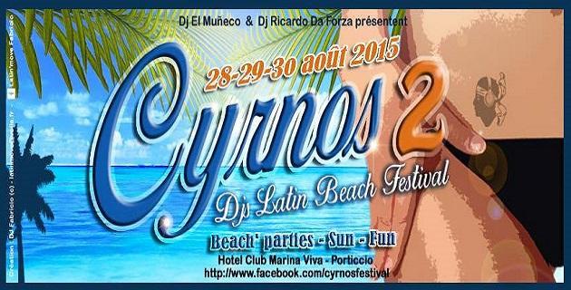 Seconde édition du Cyrnos Latin Beach Festival les 28, 29 et 30 août à Marina Viva