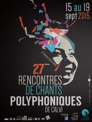 XXVIIèmes Rencontres de chants polyphoniques du 15 au 19 septembre à la Citadelle de Calvi