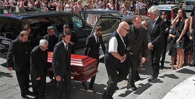 Le dernier hommage d'Ajaccio à Laurent Rossi
