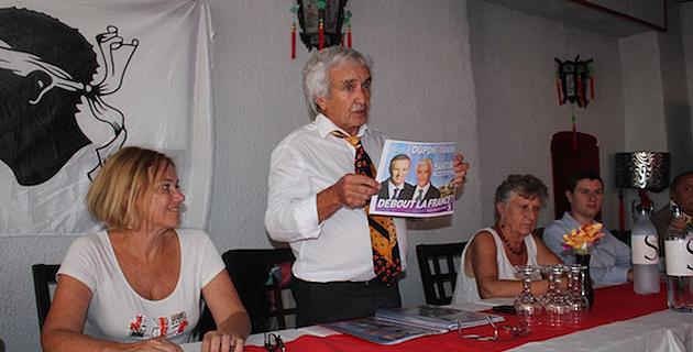 Ajaccio : « Debout la France » entre en course pour les territoriales
