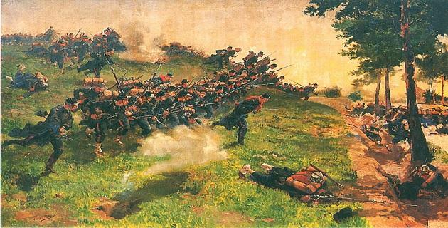 Cérémonie commémoratives marquant le 145ème anniversaire de la bataille de Bazeilles