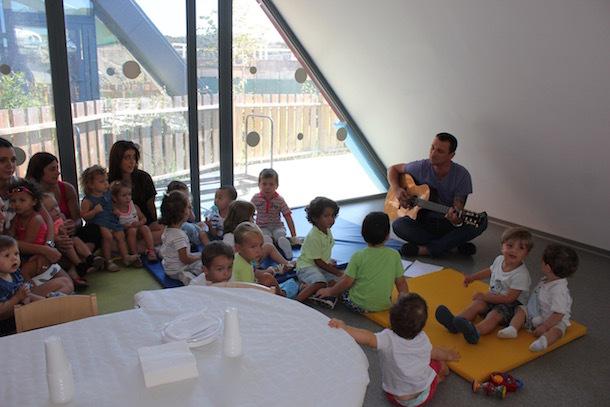 Ajaccio : Goûter de fin d'été pour la crèche A Ciucciarella