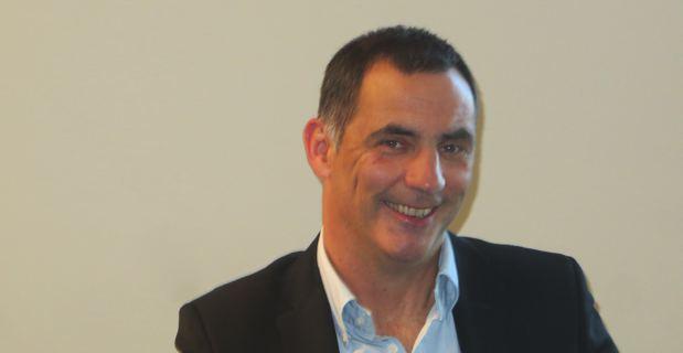 Gilles Simeoni, maire de Bastia et conseiller territorial du groupe Femu a Corsica.