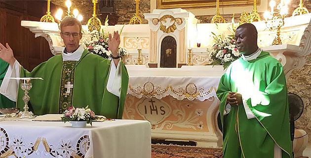 Biguglia : Bertrand Djossou nouveau curé de la paroisse