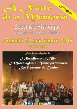 Bastia : A notte di a memoria