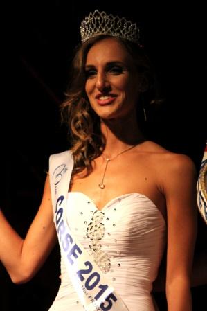 Jessica Garcia représentera la Corse à l'élection de Miss France
