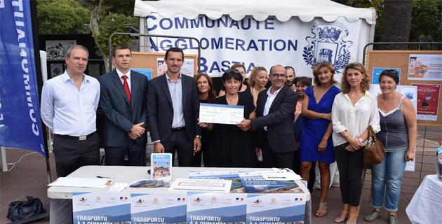 Journée de la mobilité à Bastia : Un chèque de 25 000€ à l'association Opra Leccia