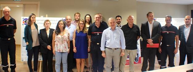 Le programme européen Pop Alert présenté au Sdis de Haute-Corse