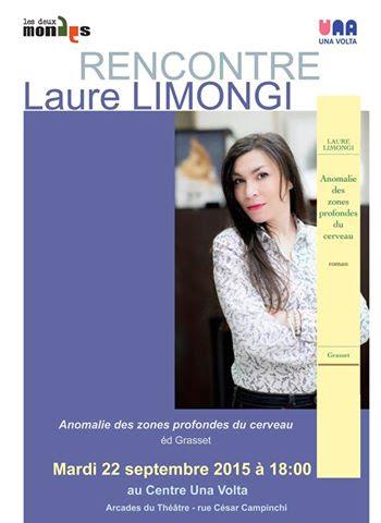 """Bastia : Laure Limongi présentera son nouveau livre à """"Una Volta"""""""