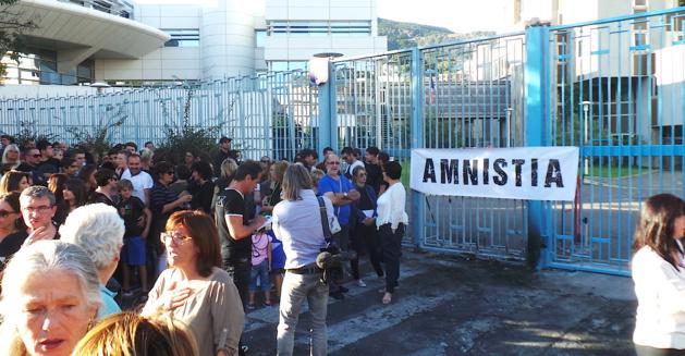 """Un seul mot d'ordre à Bastia : """" Amnistia"""""""