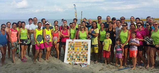 La Marana, terre de Beach tennis : 54 joueurs au dernier tournoi. Et beaucoup plus au prochain