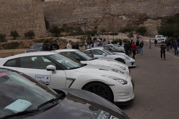Etape à Calvi pour le  tour de Corse GT Sport et voitures de prestige en parallèle au WRC