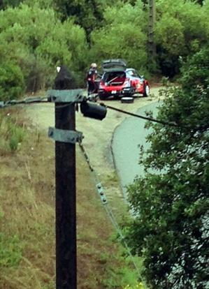 Le Tour de Corse dans la tourmente : Elfyn Evans (Ford Fiesta) a pris les commandes