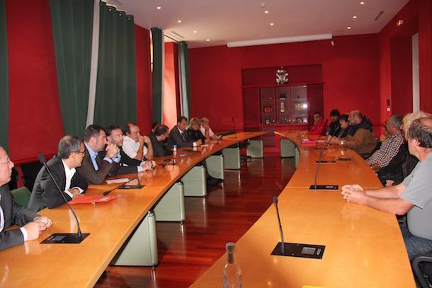 Une délégation de pépiniéristes-paysagistes a été reçue vendredi par les élus de l'Assemblée de Corse