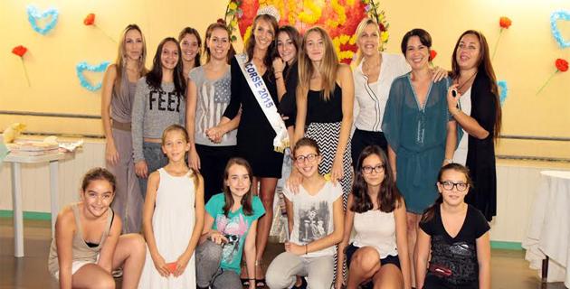 Furiani : L'école de danse Adage fête sa Miss