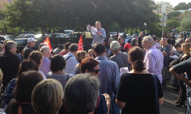Bastia : Entre 200 et 300 personnes à la journée d'action de la CGT
