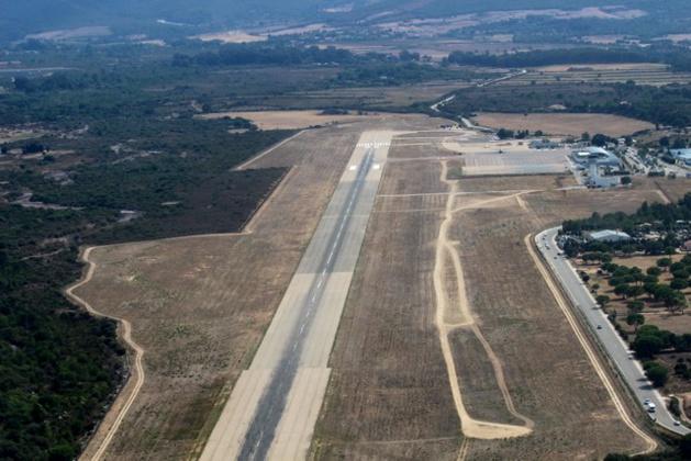 Elargissement de la piste de l'aéroport de Calvi-Balagne. Les travaux de nuit débuteront en décembre
