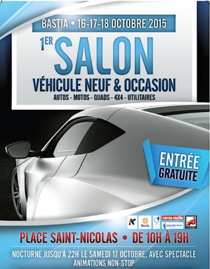 Bastia : L'auto et la moto vont faire Salon pendant trois jours sur la place Saint-Nicolas