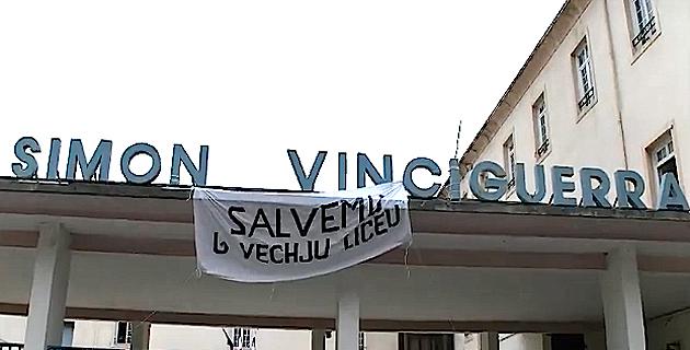 """Communauté éducative du collège Simon-Vinciguerra : """"Non au parking Gaudin"""""""