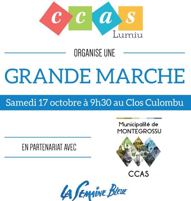 Grande Marche Bleue le 17 octobre à Lumio